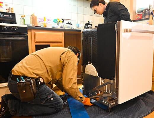 家電のメンテナンス・修理まで対応可能