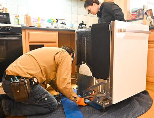 輸入家電の設置からメンテナンスまで対応